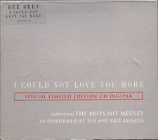 Bee Gees I Could Not Love You More + Brits Medley UK CD Single Limited