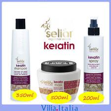 Kit per capelli post trattamento - Shampoo 350ml + Maschera 500ml + Lozione 200m