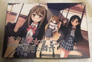 Koi Suru Kanojo no Bukiyou na Butai 1st limited edition PC Game kantoku art