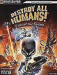 Destroy All Humans! Path of the Furon Official Strategy Guide Official Strategy