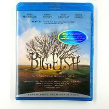 Big Fish (Blu-ray, 2007) Ewan McGregor, Jessica Lange New Sealed