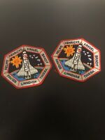 NASA Space Shuttle Flight 78 LMS Astronauts Happy Sun Embroidered Iron On Patch