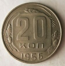 1956 SOVIET UNION 20 KOPEKS - AU - Free Ship - Premium Vintage Bin #15