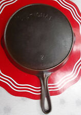 National (by Wagner) Cast Iron #7 Skillet 1914-1920's Very Good Cond