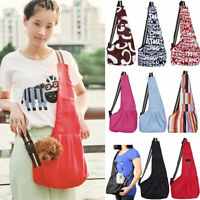 Travel Pet Cat Dog Puppy Carrier Shoulder Bags Small Animal Crossbody Sling Bag