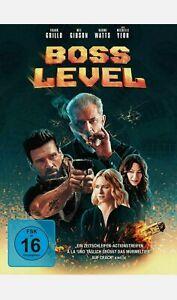 Boss Level  Mel Gibson  DVD