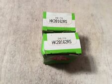 2-INA  /bearings #HK20162RS ,30 day warranty, free shipping lower 48!