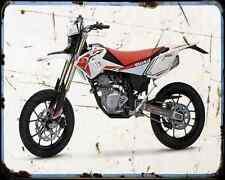 Beta Rr 125 Motard A4 Metal Sign Motorbike Vintage Aged