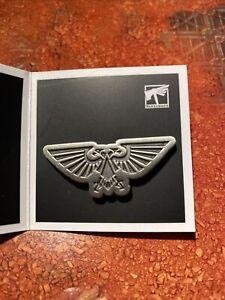 Warhammer 40,000 - The Imperium Aquila Silver Faction Koyo Pin Badge