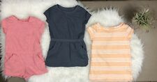 Toddler Girl Old Navy Clothing Lot Of 3 Sz 12-18m Euc Romper Dress