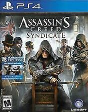 Assassin's Creed Syndicate RE-SEALED Sony PlayStation 4 PS PS4 GAME