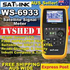 Satlink WS-6933 Satellite Signal Meter Finder for VAST or Foxtel