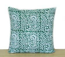 "100% Cotton Handmade Indian Decorative Pillow Case 16"" Square Sofa Cushion Cover"
