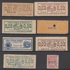 Argentina Entre Rios Province Revenues 8 diff stamps