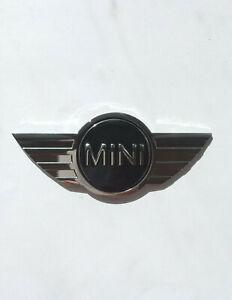 New Emblem Badge MINI COOPER Metal Sticker Decal Logo Exterior Chrome/ Black