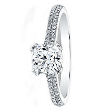 0.71 Ct Natural Diamond Engagement Wedding Ring 950 Platinum Rings Size L M N O