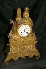 ancienne pendule en bronze XIX ème