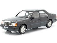 1984 Mercedes-Benz 300E Limousine W124 Metallic Black 1:18 MC Group 18206