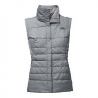 The North Face Harway Gray Quilted Women's Vest Coat Jacket Size M(MD)new