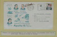 s1177) Raumfahrt Space Apollo 15 Splashdown KSC 7.7.1971 OU Autograph Al Worden