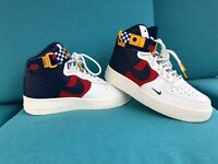 Nike Air Force 1 High LV8 Multi Color Sneakers Shoes AV7958-100  GS Sz6.5 W Sz 8