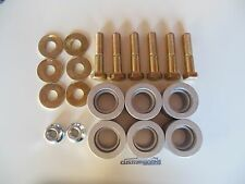 Solid body bushings 67-81 Camaro Firebird Nova Billet aluminum