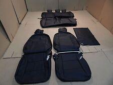 2012 2015 TOYOTA PRIUS C  BLACK LEATHER TRIM SEAT SEATS UPHOLSTERY KIT SET NEW