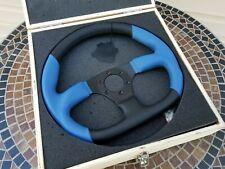 NEW! Ichibahn TOUR Series Leather Steering Wheel ISW174 BLUE