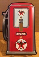 Texaco Light Switch Pump Fire Chief Gas Petroleum Motor Oil Gasoline Mancave