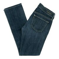 COH Citizens Of Humanity Women's Jeans AVA Low Rise Straight Dark Size 27 X 30