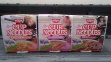 Dissidia Final Fantasy Nissin Cup Noodles 3 Flavors (all 3 characters)