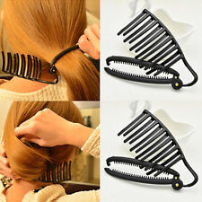 Magic Women Hair Styling Updo Bun Comb Clips Set For Hair French Twist Maker Top
