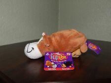 FlipaZoo stuffed toy / Bubbie Bulldog-Sparkie Yorkie / Brand new w/tags