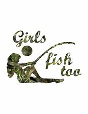 Girls Fish Too / Fishouflage Camouflage