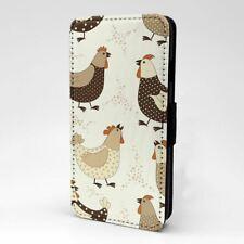 Pour Téléphone Portable Étui Rabattable Poulet Motif - S2566