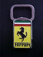 Ferrari Key Chain Fob_Prancing Horse Cavallino Rampante_Spring Loaded OEM