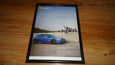 RENAULT MEGANE SPORT 225-2006 Framed original advert