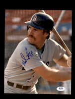 Wade Boggs PSA DNA Coa Signed 8x10 Red Sox Photo Autograph