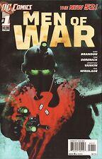 MEN OF WAR #1,2,3,4,5,6,7 - COMPLETE RUN - NEW DC 52 - 2011