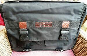 Bree Messenger Bag Travel Büro Akten Schwarz Nylon