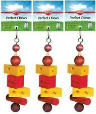 SUPERPET PERFECT CHEW RAT SUPER PET SMALL ANIMAL TOY. LOT OF 3 PIECES