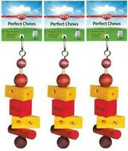 Kaytee Superpet Perfect Chew Rat Super Pet Small Animal Toy Lot Of 3 Pieces