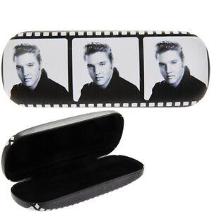 NEW - Elvis Presley Film Strip Hard Glasses/Sunglasses Case Soft Cloth Included