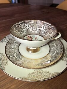 Winterling Teacup Saucer And Plate Lovely Trio