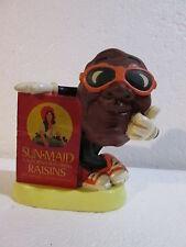 Vintage 1987 Calrab Sun-Maid California Raisins Piggy Bank