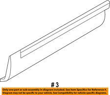 FORD OEM Explorer Rear Door Body Side-Lower Molding Trim Left BB5Z7825557BA