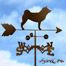 Hand Made Shiba Inu Dog Weathervane *NEW*
