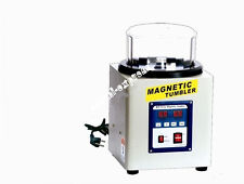 Magnetic Tumbler 21 cm SUPER Lucidatore FINISHER velocità variabile grande capacità M205