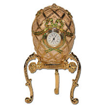 Oeuf Croix de Saint George copie Oeuf Faberge OEUF HORLOGE collection Faberge