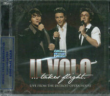 CD + DVD SET IL VOLO TAKES FLIGHT LIVE FROM THE DETROIT OPERA HOUSE NEW 2012